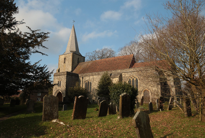St Nicholas Church Pluckley one of the world's most haunted churches