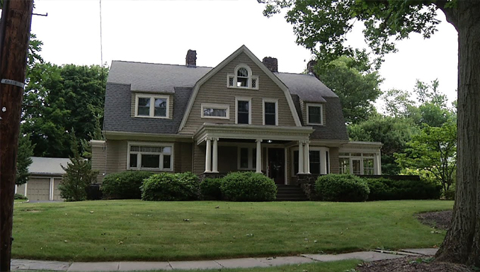The Watcher House, New Jersey. The centre of some eerie mysteries