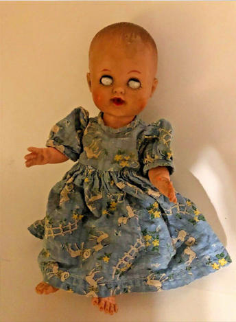 Vintage Cursed Doll on eBay