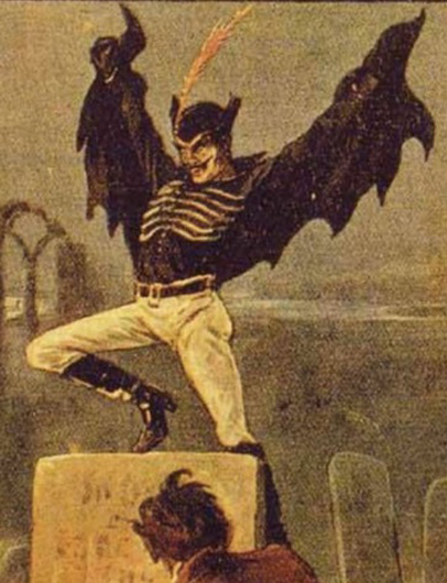 Illustration of Spring Heeled Jack