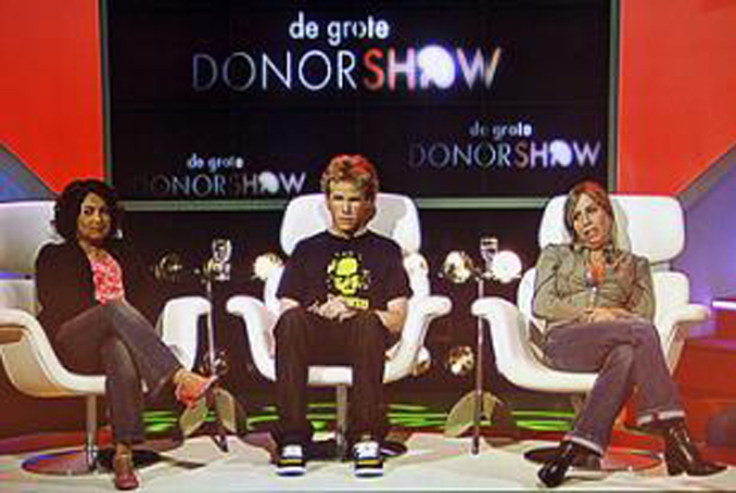 The Great Donor Show was a hoax that fooled an entire country.