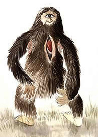 The Mapinguari.