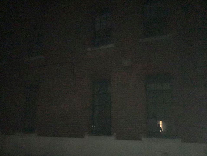 Creepy ghost photo sent in my Debbie M