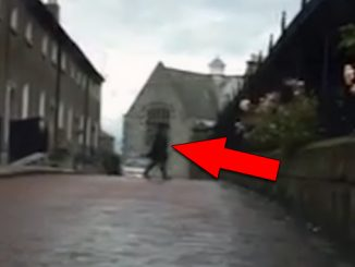 Shocking ghost footage caught on tape.