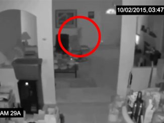 This scary footage is leaving viewers baffled.