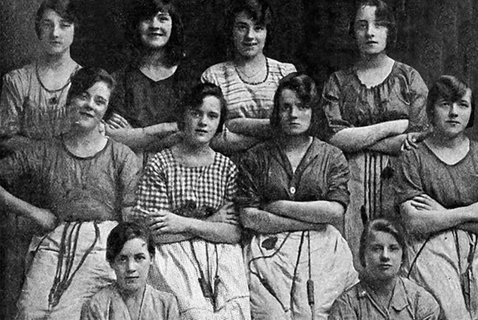 Belfast Linen Girls 1900, scary Irish Ghost sightings.