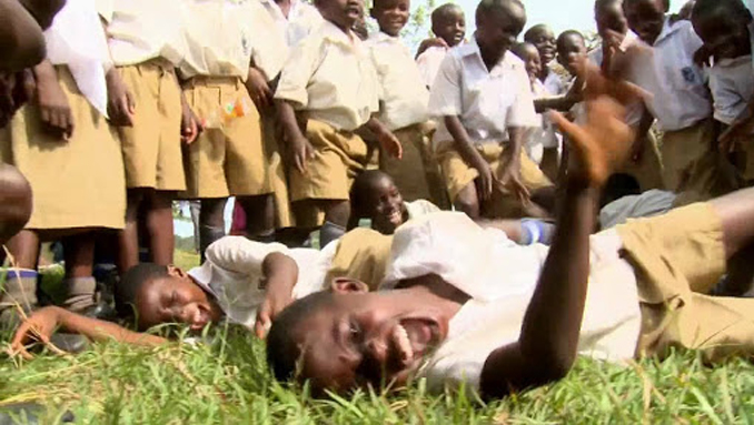 Tanganyika laughter epidemic, an explample of mass hysteria.