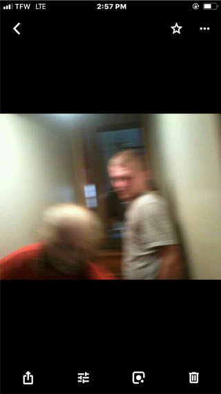 Scary ghost appears in photo