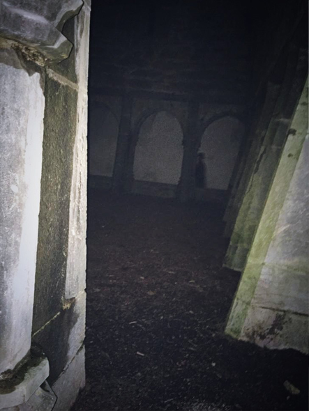 The ghostly monk of Muckross Abbey